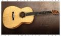 G W Barry 30-12 Koa 000+ Steel String Guitar 2016 Full Front View