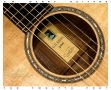 G W Barry 30-12 Koa 000+ Steel String Guitar 2016  Label View