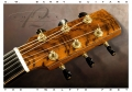 G W Barry 30-12 Koa 000+ Steel String Guitar 2016 Peghead View
