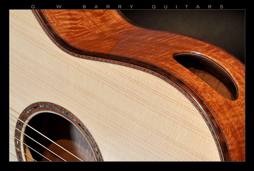 G. W. Barry Hand Built Guitars Detail