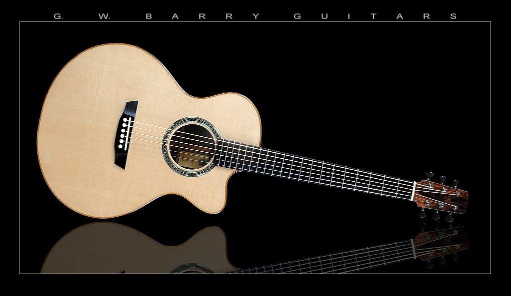 G. W. Barry Hand Built Guitars Horizontal