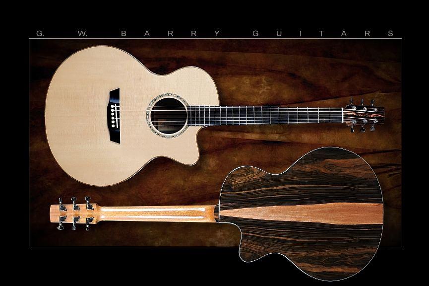 G. W. Barry Hand Built Guitars Classic