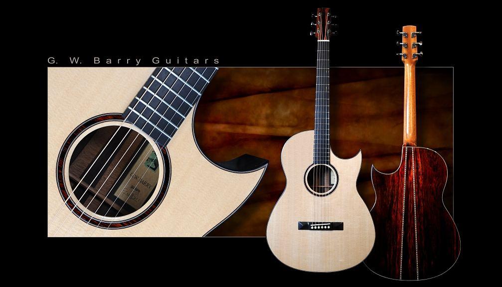 G. W. Barry Hand Built Guitars D M