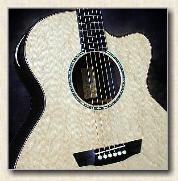 G. W. Barry Hand Built Guitars Concert Top