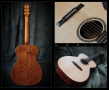 G. W. Barry Hand Built Guitars Collage