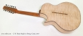 G. W. Barry Maple 12 String Guitar, 2017 Full Rear View