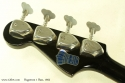 Hagstrom 1 Bass and Guitar Set 1965 bass head rear
