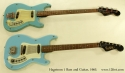 Hagstrom 1 Bass and Guitar Set 1965 full front view
