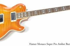 Hamer Monaco Super Pro Amber Burst, 2012 Full Front View