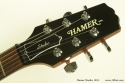 Hamer Studio 2001 head front