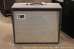 Harmony H305A Tube Combo Amp, 1960 Full Front View