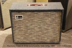 Harmony H306 18 Watt 1x12 Combo Tube Amp, 1964   Full Front View