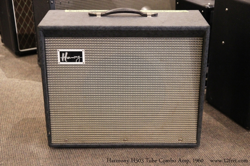 Harmony H503 Tube Combo Amp, 1960  Full Front View