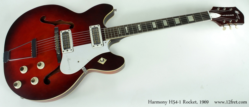Harmony H54-1 Rocket 1969 full front view