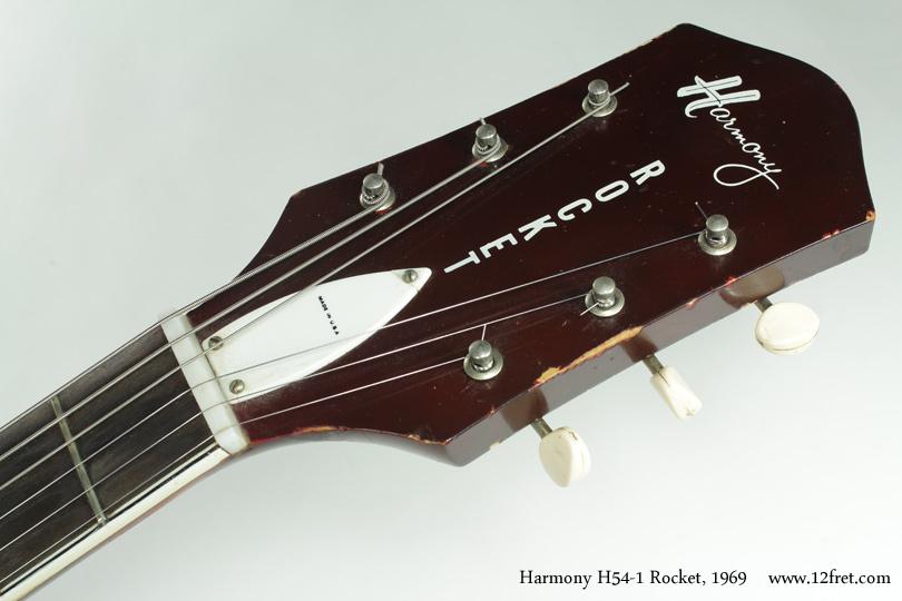 Harmony H54-1 Rocket 1969 head front