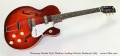 Harmony Rocket H54 Thinline Archtop Electric Sunburst 1965 Full Front View