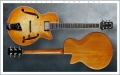 Douglas Harrison GB Custom Blister Maple Thinline Archtop Electric, 2015 Front Rear Views