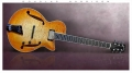 Douglas Harrison GB Custom Blister Maple Thinline Archtop Electric, 2015 Full Front View