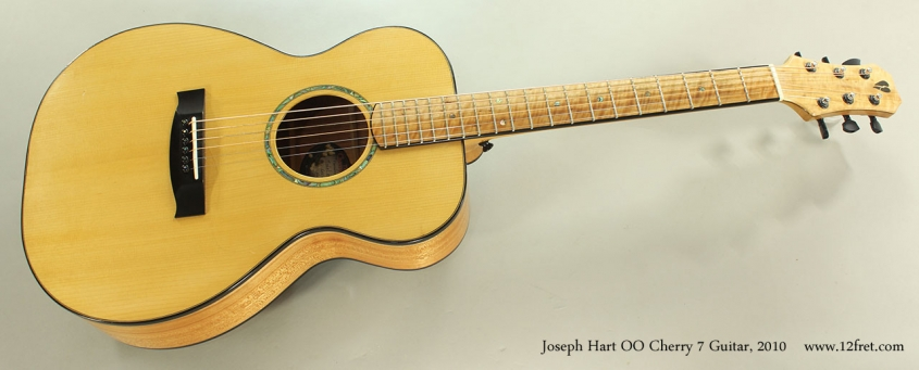Joseph Hart OO Cherry 7 Guitar, 2010 Full Front View