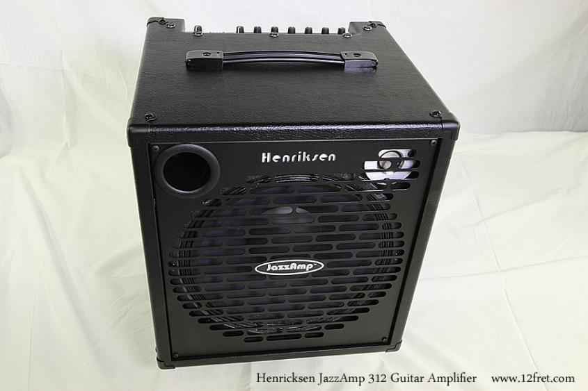 Henricksen JazzAmp 312 Guitar Amplifier Full Front View