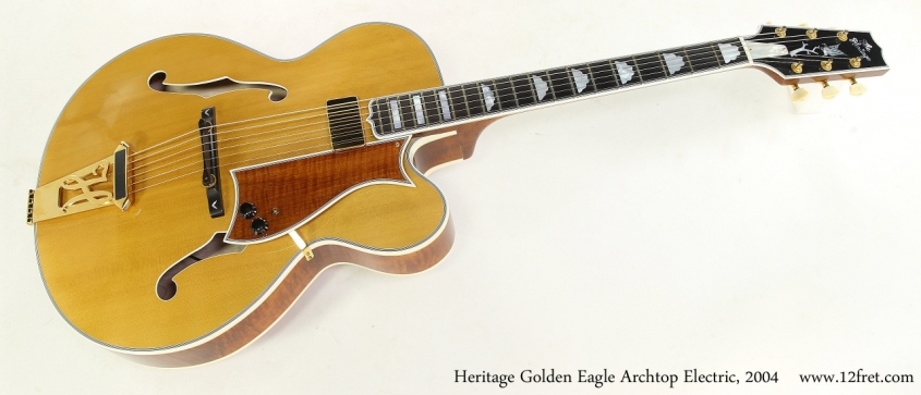 Heritage Golden Eagle Archtop Electric, 2004   Full Front View