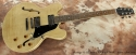 Heritage H 535 Antique Natural Thinline 2008 full front view
