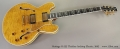 Heritage H-555 Thinline Archtop Electric, 2002 Full Front View