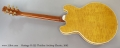 Heritage H-555 Thinline Archtop Electric, 2002 Full Rear View