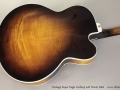 Heritage Super Eagle Archtop Left Handed 2004 Back