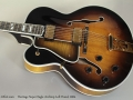 Heritage Super Eagle Archtop Left Handed 2004 Top