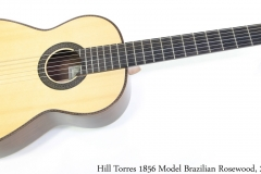 Hill Torres 1856 Model Brazilian Rosewood, 2012 Full Front View