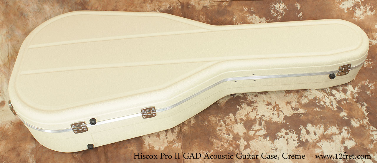 Hiscox Pro II GAD Acoustic Guitar Cases Closed Hinge VIew