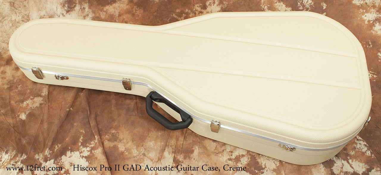 Hiscox Pro II GAD Acoustic Guitar Cases Closed Top View