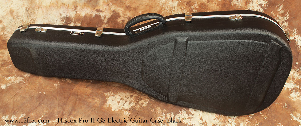 Hiscox Pro II GS Electric Guitar Cases Closed Rear View