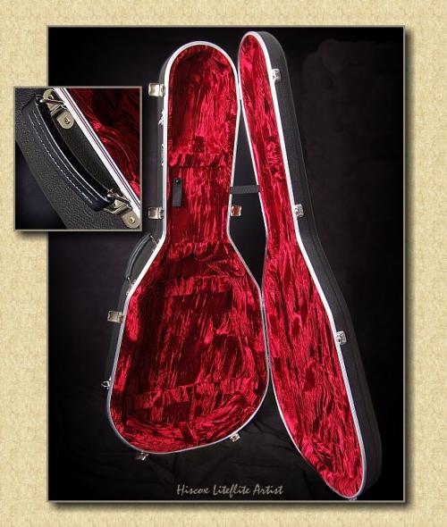 Hiscox Liteflite Artist Guitar Flight Case