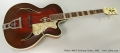 Hofner 464s Archtop Guitar, 1962 Full Front View