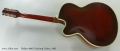 Hofner 464s Archtop Guitar, 1962 Full Rear View