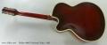Hofner 464s Archtop Guitar, 1962 Full Rear View