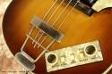 Hofner 500/1 Beatle Bass 1965 controls