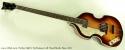 Hofner 500/1 1964 Reissue Left Hand Beatle Bass 2011 full front view