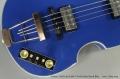 Hofner Gold Label 500/1 Violin Bass Royal Blue Controls