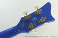 Hofner Gold Label 500/1 Violin Bass Royal Blue Head Rear