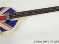 Hofner 500/1 UK Jubilee 2012 full front view