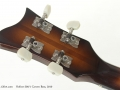 Hofner 500/1 Cavern Bass, 2010 head rear