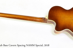 Hofner Club Bass Cavern Spacing NAMM Special, 2018   Full Rear View