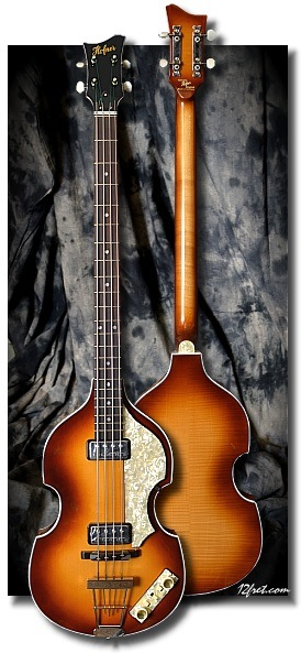 Hofner 500/1 - 62 Reissue Violin Bass Full Front View