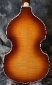 Hofner 500/1 - 62 Reissue Violin Bass Back View