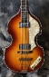 Hofner 500/1 - 62 Reissue Violin Bass Top VIewTop  Vuew