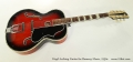 Hopf Archtop Guitar for Remeny Music, 1950s Full Front View