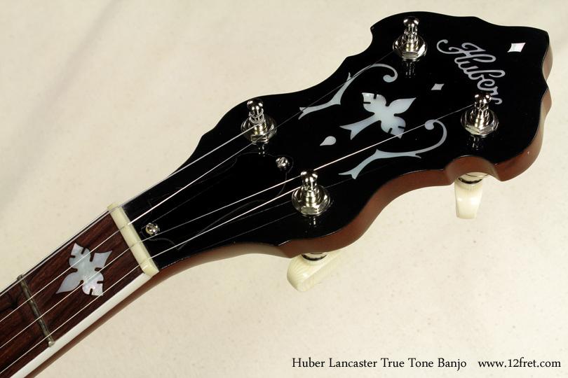 Huber Lancaster True Tone Banjo head front view